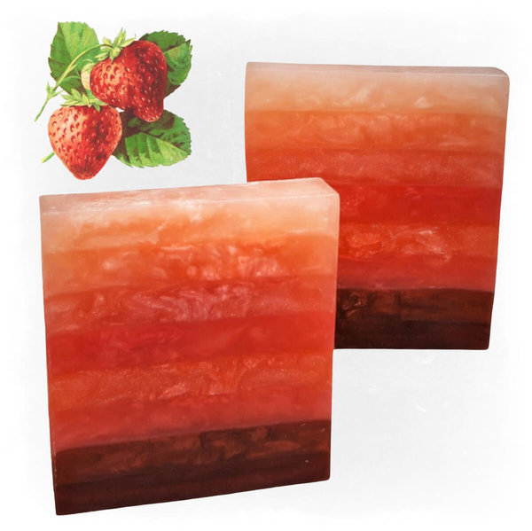 Bar Soap ToneStripes ~Strawberry~