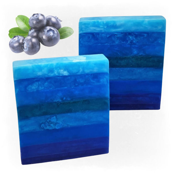 Bar Soap ToneStripes  ~Blueberry~